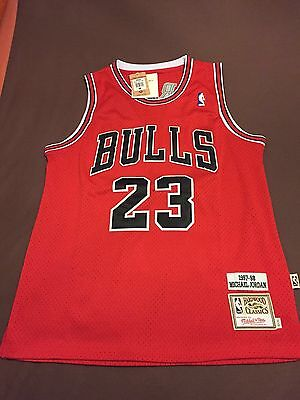 Mitchell & Ness Autentica Nba Chicago Bulls Michael Jordan 23 Camiseta