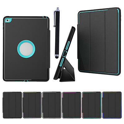 Shockproof Protective Case Smart Leather Stand Cover for iPad 4 3 2 mini Pro Air
