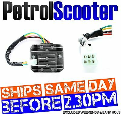 Chinese Scooter Motorbike 125cc Relay Regulator Rectifier 12v Current Stabiliser