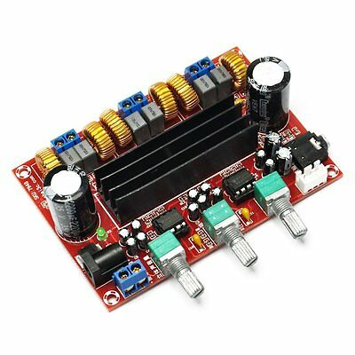 TPA3116D2 2x 50W +100W 2.1 Channel Digital Subwoofer Power Amplifier Board UK
