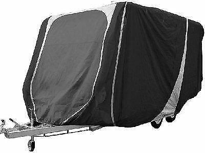 Streetwize Breathable Caravan Cover 12 to 14ft Charcoal/Grey 3 ply New for 2016