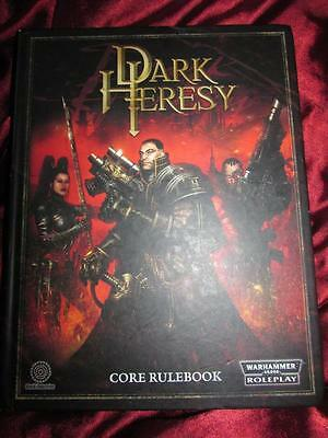 DARK HERESY CORE RULEBOOK. Warhammer RPG HB OOP