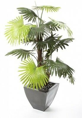 Closer To Nature Artificial 4ft Windmill Fan Palm Tree - Artificial Silk Plant