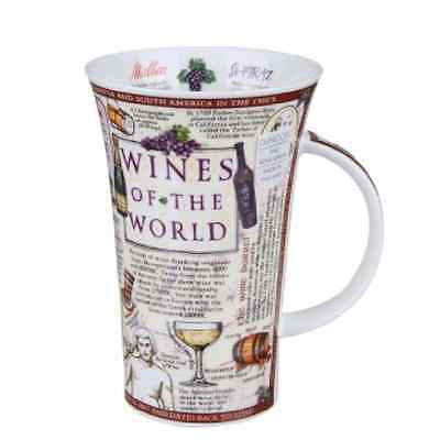 Dunoon Mug Fine Bone China Glencoe - Wines of the World - BRAND NEW