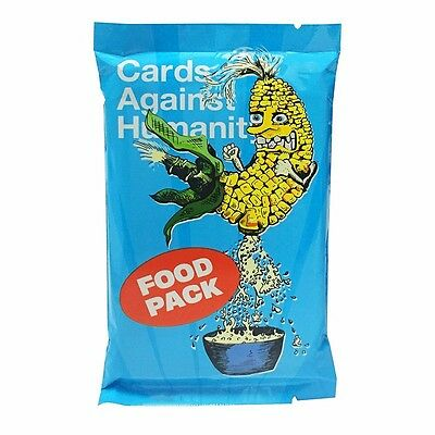 Cards Against Humanity - FOOD Expansion Packs 1 PACK FREE SHIPPING