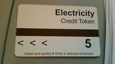 Electric Meter Cards