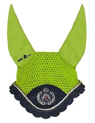 Fair Play Orbit Fly Veil In Lime Green Size Full