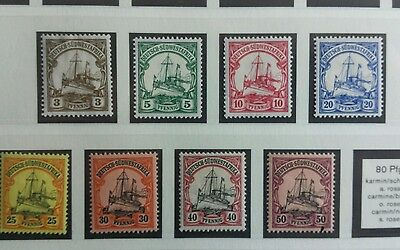 german colonies stamp sudwestafrika mint. used valuable collection