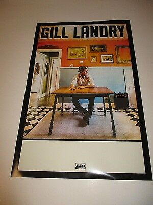 Gill Landry 2015 Limited Promotional 11X17 NEW