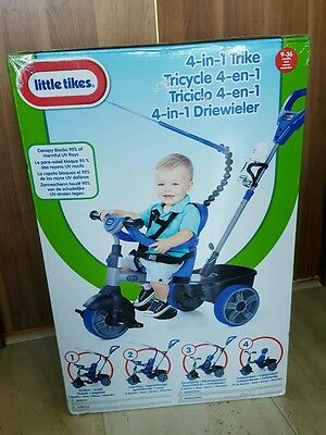 Blue Little Tikes 4in1 Trike