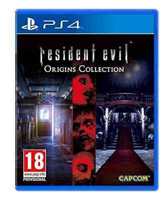 Playstation 4-RESIDENT EVIL ORIGINS COLL  GAME NUOVO