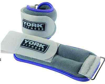 NRS Healthcare Strap On Ankle/Wrist Weights - 0.5 kg (1 lb)