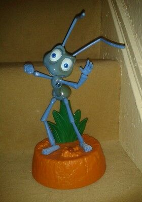 """WORKING A BUG'S LIFE ANT DANCING - TALKING - FIGURE TOY  11"""" TALL  damaged"""