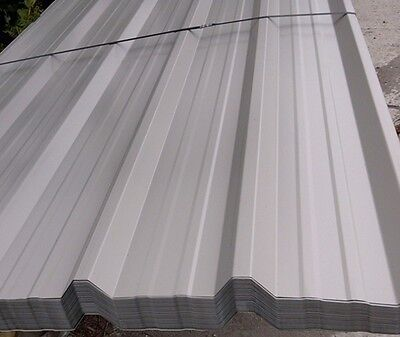 Galvanised Steel Roofing Sheets  /  Grey ** Uk Manufactured**