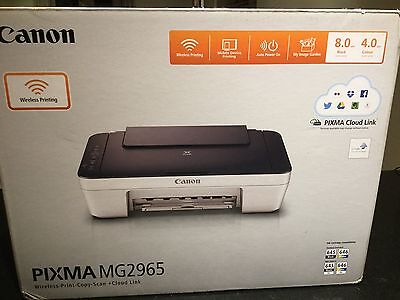 Canon PIXMA MG2965 All-in-One Wireless Inkjet Printer+Mobile Print w/PG645/CL646