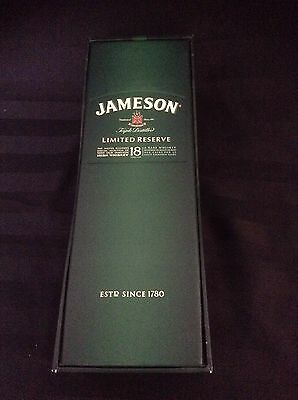Jameson Whisky Limited Reserve Empty Paper Box