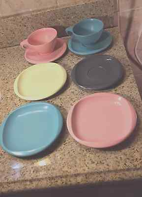 Boontoon Ware Melamine Dishes Eight (8) Piece Lot