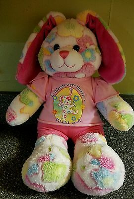 "Build-a-bear ""If friends were flowers I'd pick you"" Bunny"