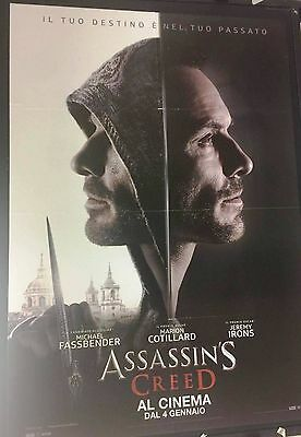 Assassin's Creed Poster Manifesto originale ITA CINEMA 100X140cm