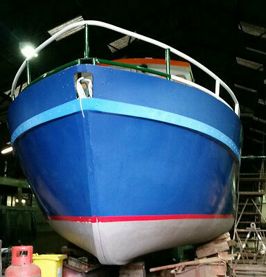 liveaboard boat, 36 foot X 12 foot converted ships lifeboat