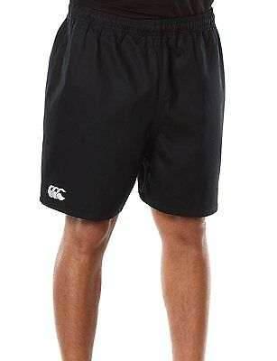 Canterbury Base Men''s Rugby Shorts without Pockets Blue black black Size:26