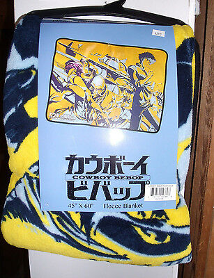 "Cowboy Bebop Pose Throw Blanket 45""x60'"