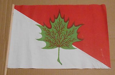 authentic canada proposal flag 1947 from adelard godbout prime minister