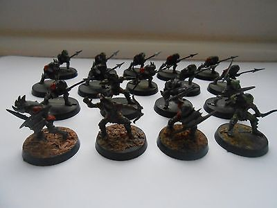 WARHAMMER LOTR Lord of the Rings 18 x Goblins painted