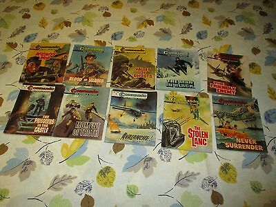 Commando Comics from 1970s . Nice Job Lot some consecutive numbers
