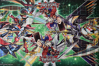 "Yu-gi-oh! Yugioh Official Konami 4 Player Table Playmat 5' x 27"" NEW"