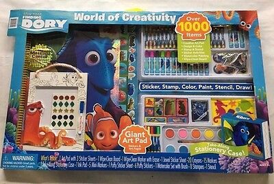 NEW Bendon World of Creativity Finding Dory Activity Set-1000 Items