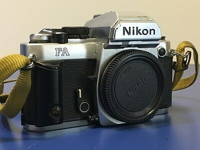 Nikon FA 35mm Film Camera Body