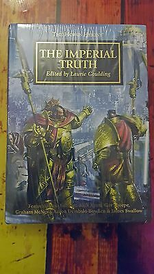 Imperial Truth Limited Edition Black Library Horus Heresy Collectors Novel Rare