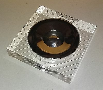 Grande Portacenere - Svuota tasche in Plexiglass e metallo - Posacenere Ashtray