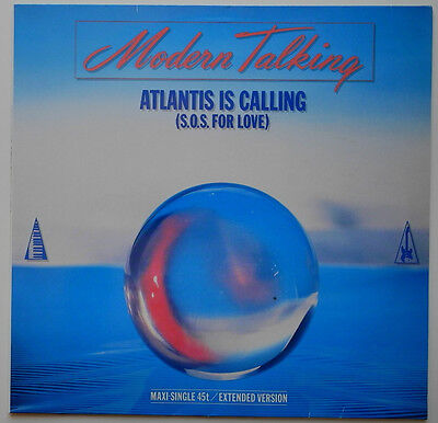 "12"" De**modern Talking - Atlantis Is Calling (Hansa '86)***18351"