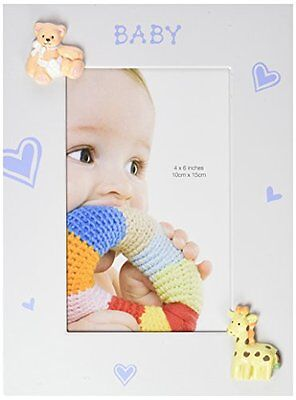 Fashioncraft Baby Boy Picture Frame, 4 x 6, Blue