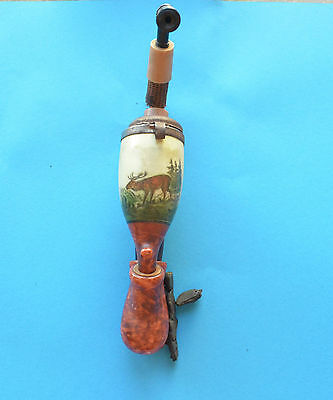 WW1 German Imperial beautiful pipe with drawing