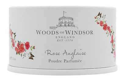 Dusting Body Powder with Puff ,Woods of Windsor True Rose, 3.5 Oz 100g