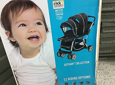 Brand New Graco Ready 2 Grow LX stand & ride double stroller - Gotham