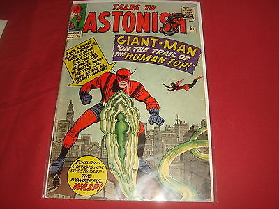 TALES TO ASTONISH #55 Giant Man & The Wasp Silver Age  Marvel Comics 1964 VG