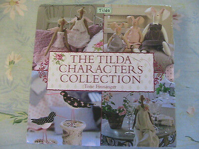 TILDA CHARACTERS COLLECTION 4 book set cloth doll patterns~dolls~angels~birds+
