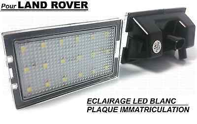 Range Rover Sport 05-13 Led License Plate Light White Xenon Rear Bumper Land Hse