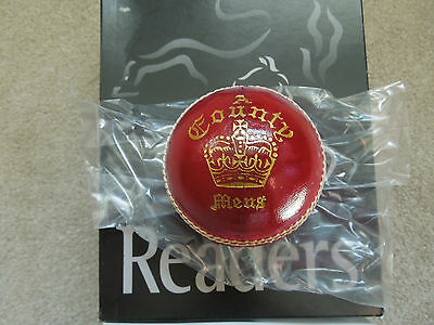 Readers County Crown Senior English Leather Cricket Ball
