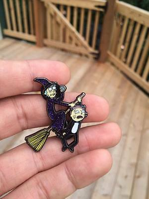 Witch Rick Hat pin and Morty Halloween Soft enamel Limited Edition Collectable