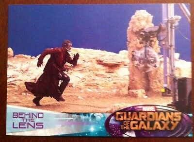 Guardians Of The Galaxy 2014 Movie Trading Card Behind The Lens # 127