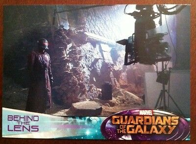 Guardians Of The Galaxy 2014 Movie Trading Card Behind The Lens # 126