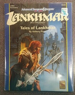 SEALED D&D  Dungeons & Dragons 2nd Edition LNR2  TALES OF LANKHMAR 9329