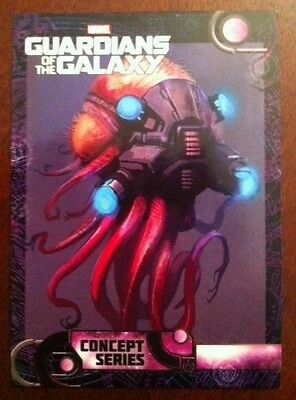 Guardians Of The Galaxy 2014 Movie Trading Card Sp Concept Series  # 109