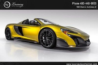 2016 McLaren Other  675LT Spider Rare Color Solis Carbon Everything Ext & Int