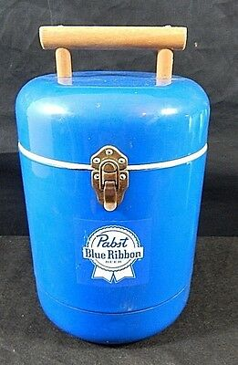 Pabst Blue Ribbon Beer Picnic Cooler soda Pop Ale